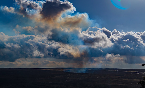 Kilauea Volcano in Hawaii