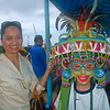 Borrowed Maskara from delegates of maskara festival