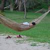 Chiilin in hammock