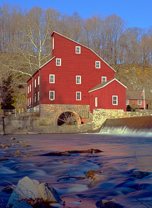 Red Mill at Sunrise