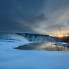 Dawn, Mammoth Hot Springs