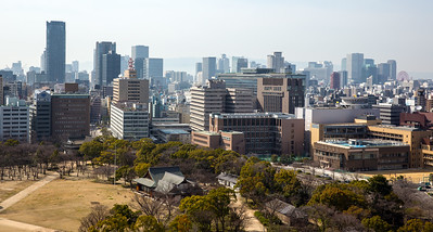 City View from Osaka Palace