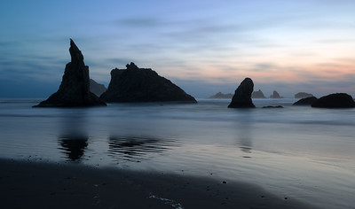 Seaside Rocks in Bandon, Oregon