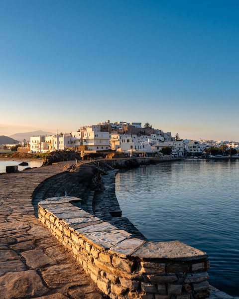 Sunrise in Naxos