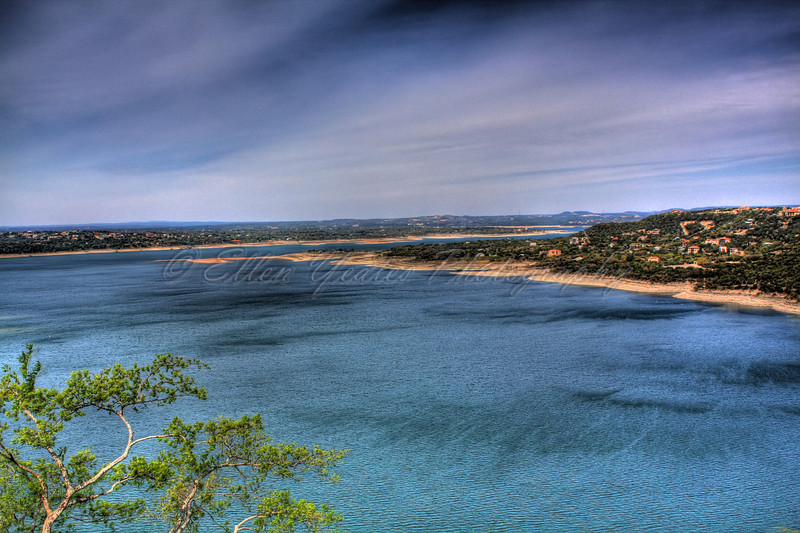 <b>Lake Travis</b>  This photo was taken on April 6, 2009 in the late morning . It was my first hdr.  HDR - AEB +/-1 total of 3 exposures processed with Photomatix