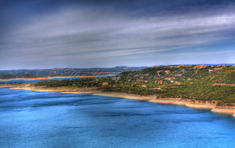 <b>Lake Travis</b></center> This photo was taken on April 6, 2009 in the late morning .  HDR - AEB +/-1 total of 3 exposures processed double tone mapping with Photomatix.