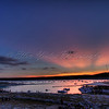 Sunset at Lake Travis by Carlos' n Charles resturant.