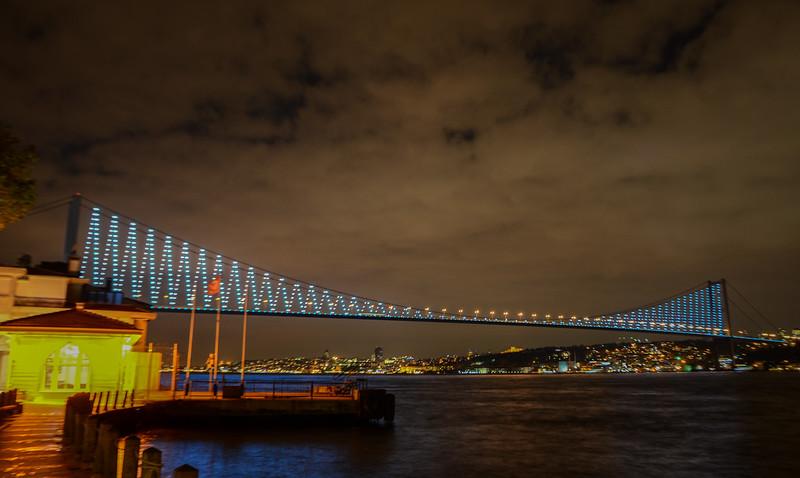 Boğaziçi Köprüsü (The Bosphorus Bridge), Istanbul
