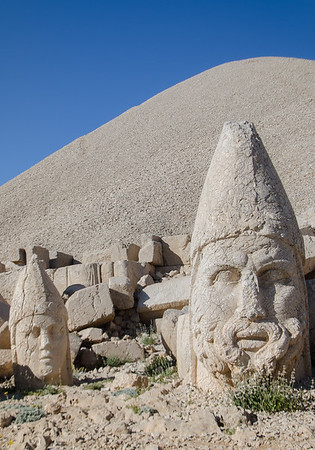 Head of Zeus in West Terrace, Nemrut Dağı