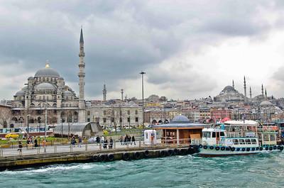 Eminonu port area, Istanbul