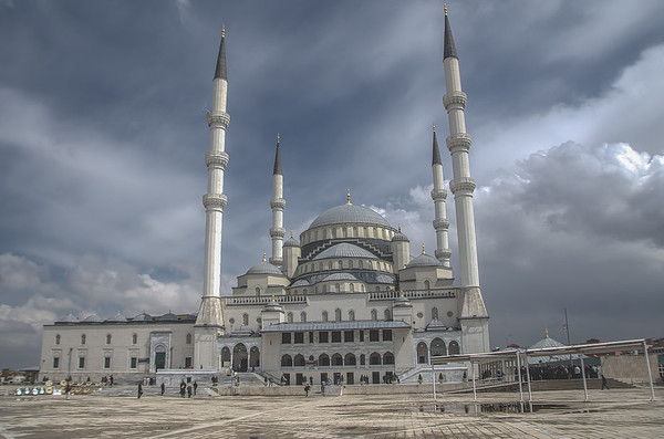 The Kocatepe Mosque, Ankara