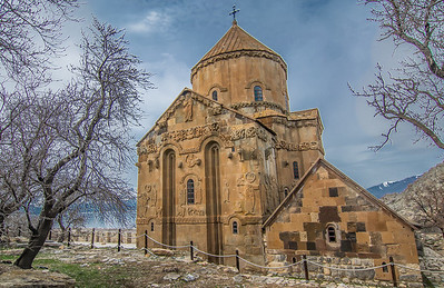 The church of the Holy Cross on Akdamar island, Van