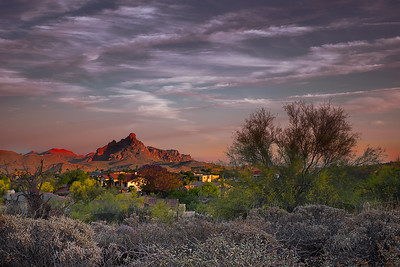 Red Mountain Sunset