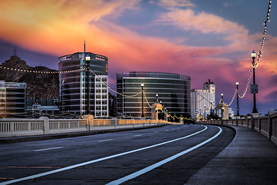 Tempe Bridge Sunset