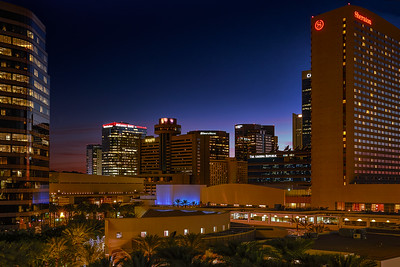 AZ Center - Phoenix Blue Hour