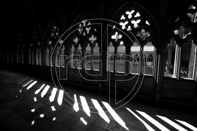 The Cloisters, Lincoln Cathedral, Lincoln, UK
