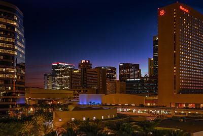 AZ Center - Phoenix Blue Hour