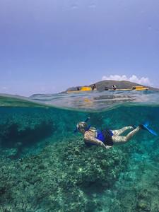 Snorkelling the coral gardens of Vanuatu