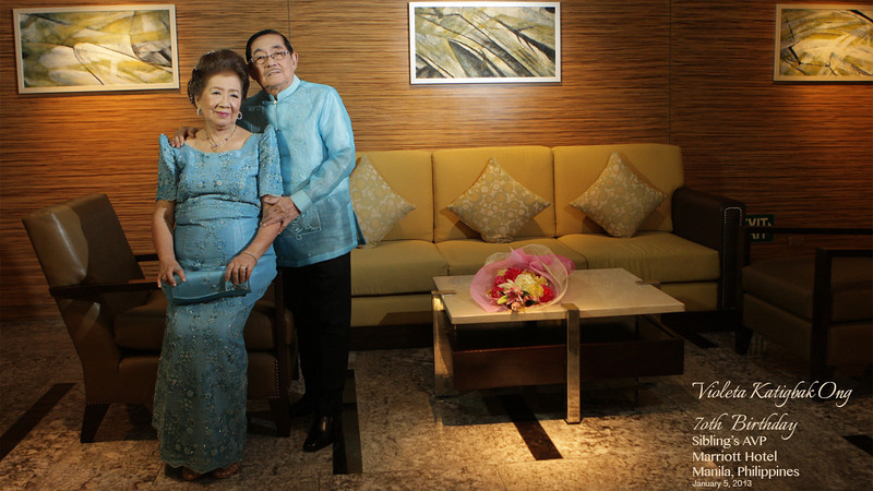 AVP 1 Siblings<br /> Violeta 70th Birthday Celebration<br /> Marriott Hotel<br /> Manila, Philippines