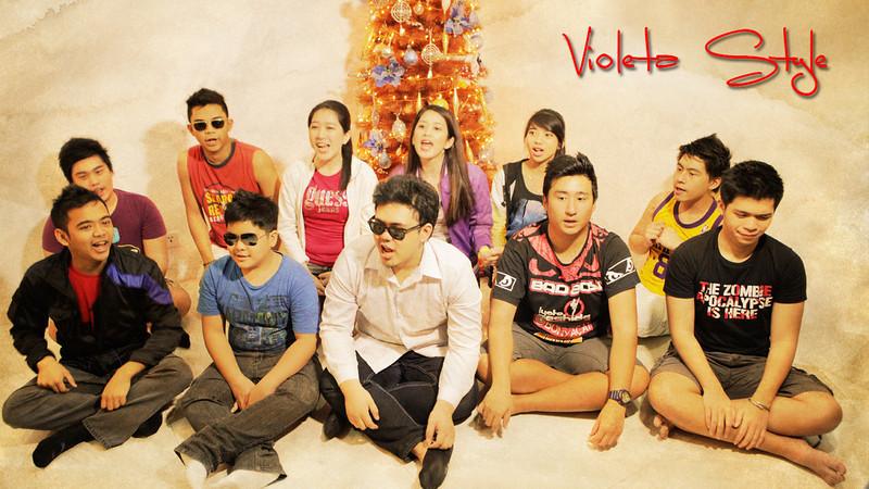 AVP 3- Violeta Gangnam Style<br /> 70th Birthday<br /> Manila Philippines
