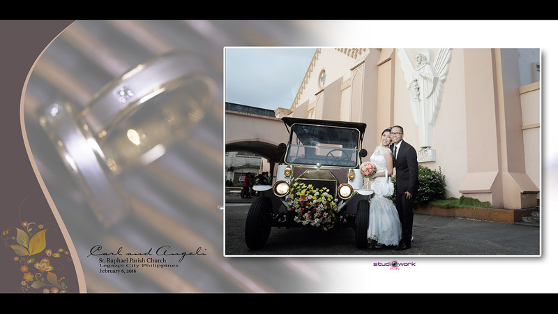 Carl & Angeli Wedding Preview