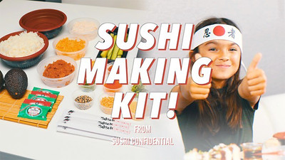 Sushi Confidential Presents: A Sushi Making Kit Video Promo