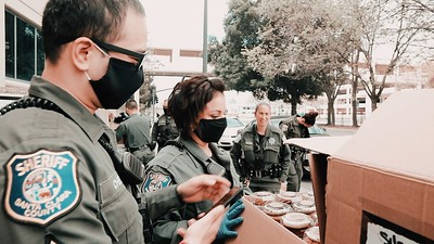 Santa Clara County Sherriffs: Feeding Our Healthcare Heroes