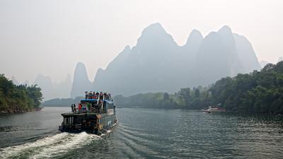 Li River Cruise, Guilin to Yangshuo, China