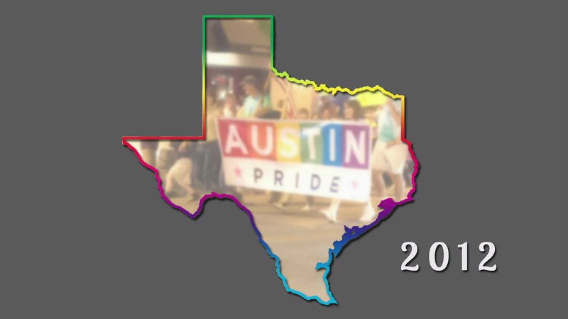 This is a timelapse video of the pictures I took at the 2012 Austin Pride Parade.
