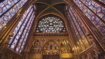 La Sainte-Chapelle - Île de la Cité, Paris