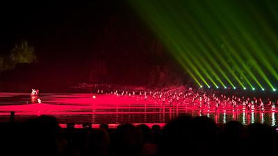 River Light Show, Yangshuo