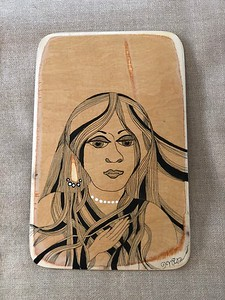 Wood art by Nira Dahan/ 'Women'