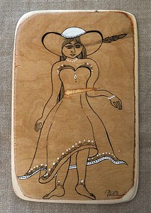 Wood art by Nira Dahan/ 'With Grace'