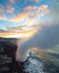 Ocean Entry Sunrise