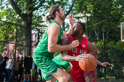 Unusual Suspect Vs Green Dream @West Fourth, NY 6/28/17