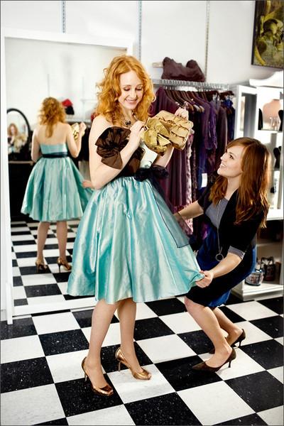 Wardrobe Stylist: The Velvet Boutique<br /> Model: Cyndi Hunter, Jessica Elliott