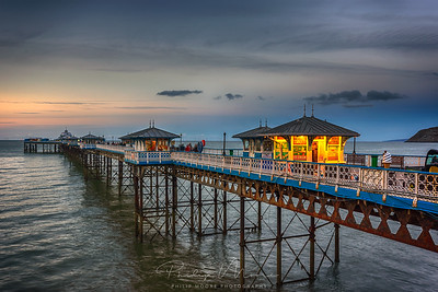 Last Light on the Pier