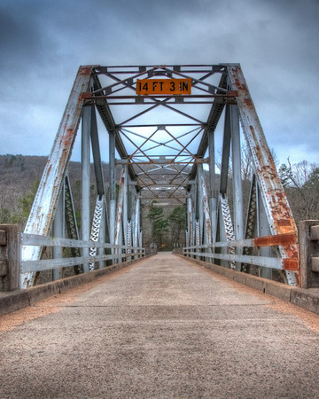 HDR - Ozark's Bridge
