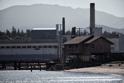 Port Angeles, Ediz Hook Reserve, Paper Mill