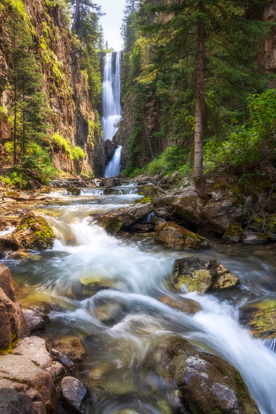 Unnamed Waterfall, San Juan National Forest