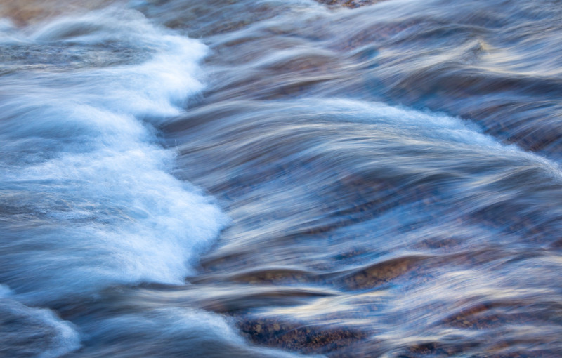 Tuolumne River Abstract