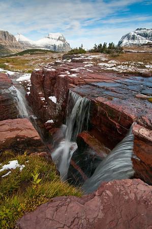 Triple Falls at Glacier