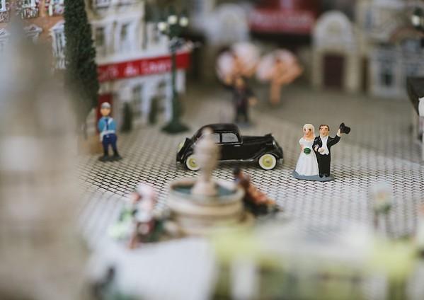 wedding day - small world