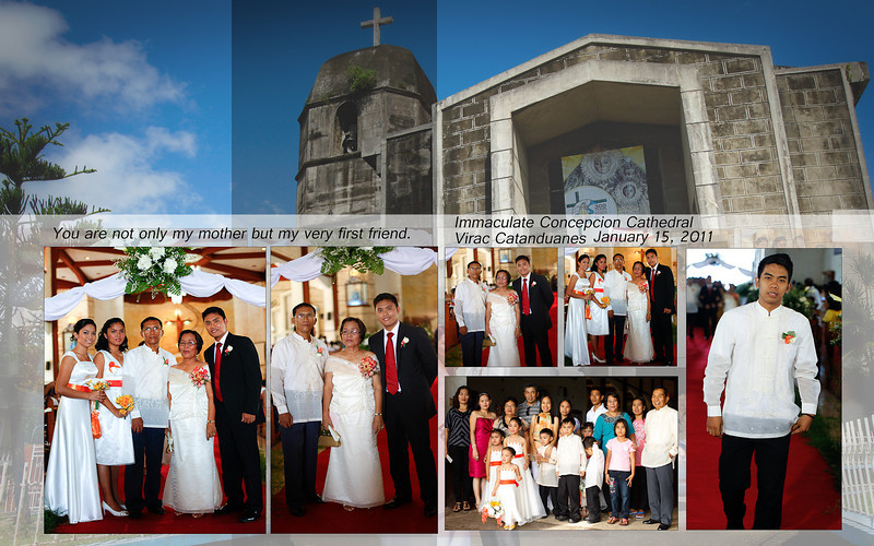 Cathedral of the Immaculate Concepcion <br /> Virac Catanduanes<br /> Philippines Virac, Catanduanes Wedding