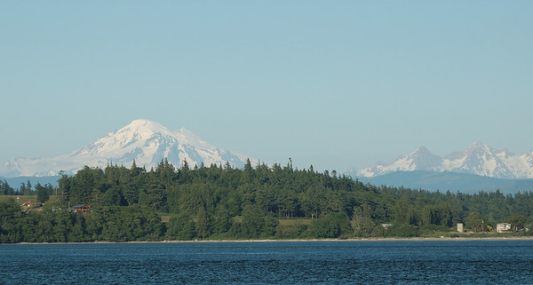 Mt Baker and Twin Sisters