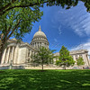 The Wisconsin State Capitol, Madison,
