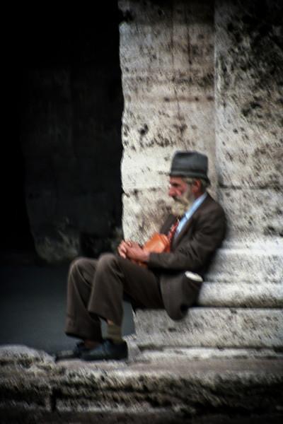 Italian man.