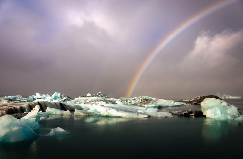Jökulsárlón Rainbow