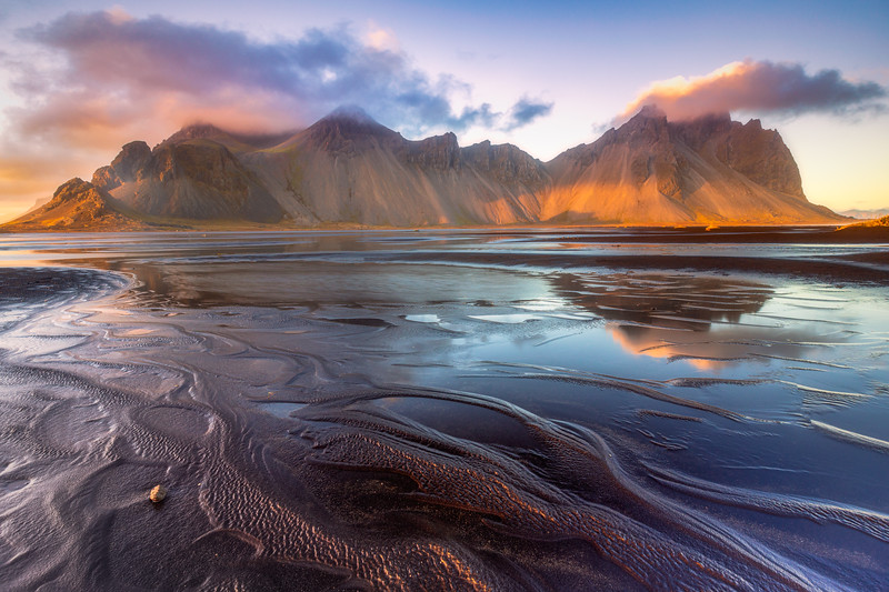 Vestrahorn Rippled Sand