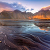 Vestrahorn Rippled Sand